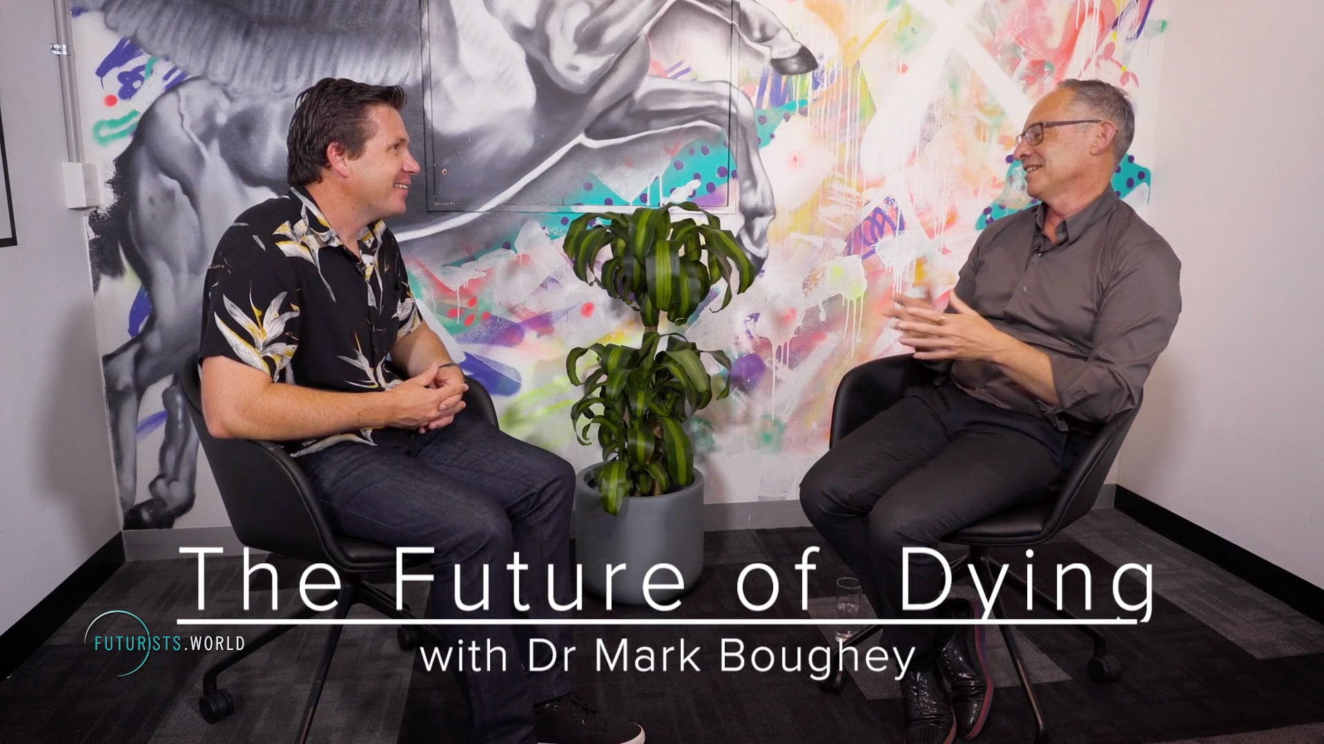 Australian Palliative Care leader Dr Mark Boughey connected with Mike Hill to shine a light on The Future of Dying.