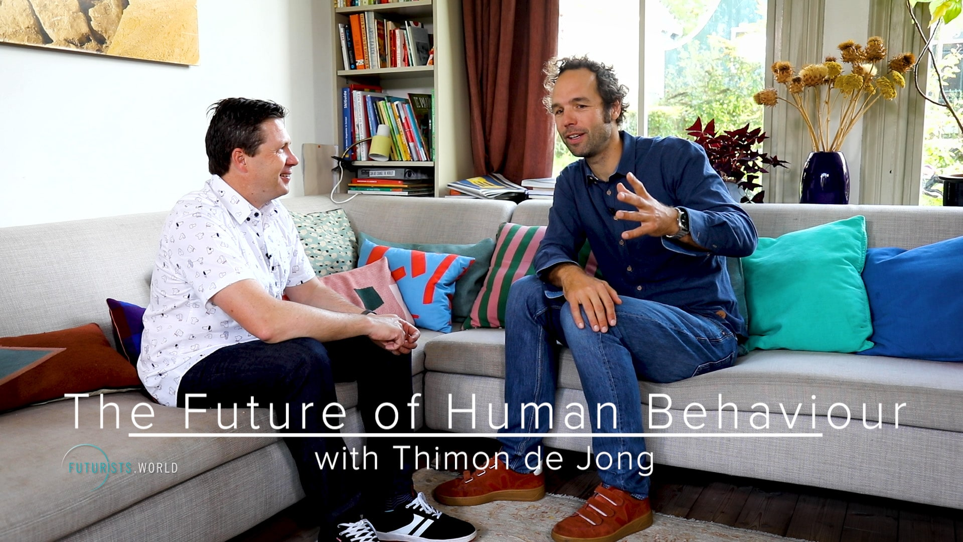 Thimon de Jong - The Future of Human Behaviour